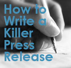 How to write a joint press release