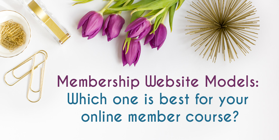 Membership Website Models: Which One Is Best For Your Online Membership Course?